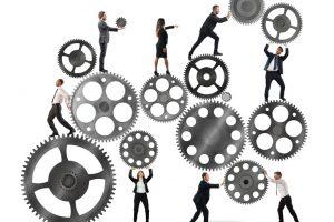Travail d'équipe en entreprise